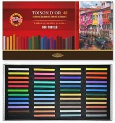 Пастель сухая KOH-I-NOOR TOISON D'OR Soft Pastels, 48 цветов