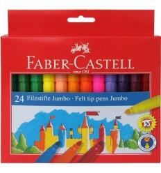 Набор фломастеров FABER-CASTELL JUMBO Замок, 24 цвета
