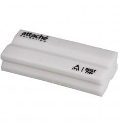 Ластик Attache selection, 55х22х12мм, x-форма, белый