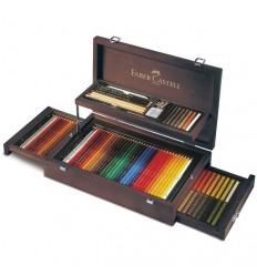 Художественный профессиональный набор FABER-CASTELL ART&GRAPHIC Collection, 126 предметов, в деревянном пенале