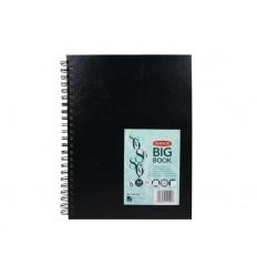 Альбом для зарисовок DERWENT BIG BOOK, А4 (21*29.7см), 110гр, 86л спираль