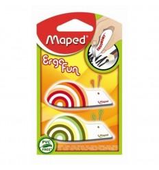 Ластик Maped EgroFun 119710 фигурный, 2шт в блистере