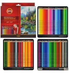 Набор акварельных цветных карандашей Koh-I-Noor MONDELUZ 3719, 72 цвета