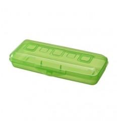 Пенал ПРЕМИУМ СТАММ, пластмассовый, светло-зеленый