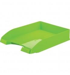 Лоток для бумаг горизонтальный Attache Fantasy, зеленый
