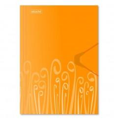 Папка на резинке Attache Fantasy А4 пластиковая до 200 листов, оранжевая