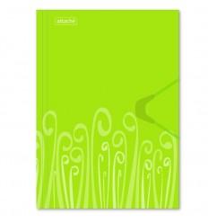 Папка на резинке Attache Fantasy А4 пластиковая до 200 листов, салатовая