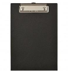 Планшет Attache А5 картонный ПВХ, черный