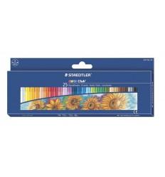 Масляная пастель STAEDTLER Noris Club, 24 цвета, 8 мм