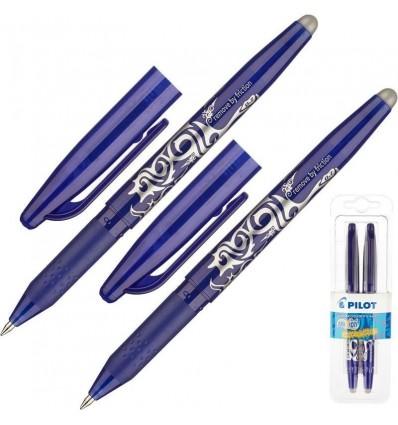 Ручка гелевая стирающаяся PILOT FRIXION BALL BL-FR7 синий 0,35мм 2шт в блистере