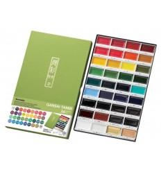 НаборакварельныхкрасокZIGGansaiTambi36цветов