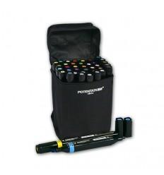 Набор спиртовых маркеров Potentate Bag Set 36 цветов (alcohol based)