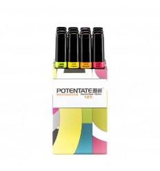 Набор спиртовых маркеров Potentate Bag Set 12 цветов (alcohol based)
