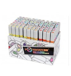 Набор пигментных маркеров Potentate Box Set 84 цветов (water based)
