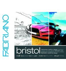 Альбом для зарисовок Fabriano Bristol 21x29,7см, 240гр., 20л., Бумага гладкая, склейка