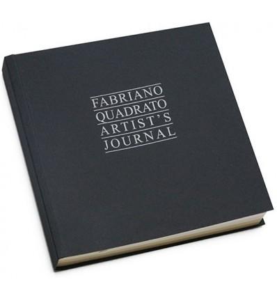 Альбом для зарисовок Fabriano Artist'S Journal 23x23см, 90гр., 96л., Бумага мелкозернистая (белая и слоновая кость)