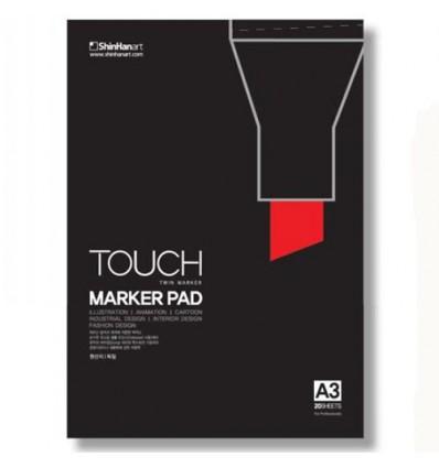 Альбом для маркеров Touch twin Marker Pad A3 (297х420мм)
