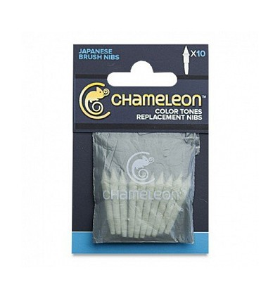 Набор сменных перьев CHAMELEON Brush Tips, 10 шт/упак