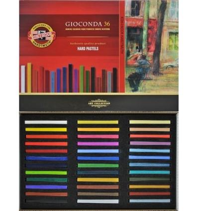 Масляная пастель твердая KOH-I-NOOR GIOCONDA 8115, L75мм, d7мм, 36 цветов