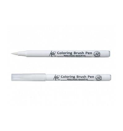 Набор акварельных маркеров, SAKURA KOI BRUSH, c эффектом кисточки , 12 цветов