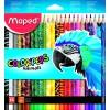 Карандаши цветные треугольные MAPED Color'Peps Animals , 24 цвета