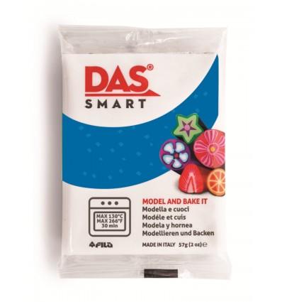 Полимерная глина (паста) для моделирования DAS SMART GLITTER 321304, 57 гр., Синяя серебристая