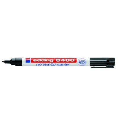 Набор маркеров для CD Edding E-8400, круглый наконечник, 0,5-1мм (4 цвета)