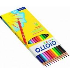 Набор цветных карандашей GIOTTO Elios, 12 цветов в картонной коробке