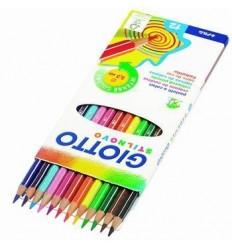 Набор цветных карандашей GIOTTO Stilnovo, 3,3мм, 12 цветов в картонной коробке