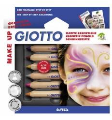 Карандаши для грима GIOTTO MAKE UP Glamour, 6 цветов