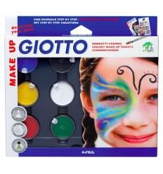 Краски для глица (грим) GIOTTO Make up classic, 6 цветов
