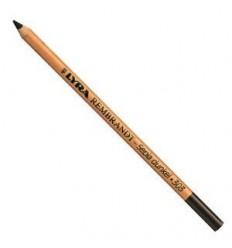 Меловой карандаш, обезжиренный, темно-коричневый сепия, Lyra Rembrandt Special Sepia 303, 1шт.