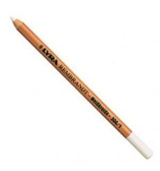 Меловой карандаш, обезжиренный, белый, мягкий, Lyra Rembrandt Special 304, 1шт.