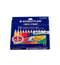 Набор цветных коротких карандашей STAEDTLER Noris Club, 12 цветов,
