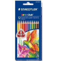 Набор цветных треугольных карандашей STAEDTLER Noris Club, 12 цветов