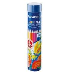 Набор цветных карандашей STAEDTLER Noris Club, 12 цветов в металлической банке