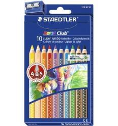 Набор цветных карандашей STAEDTLER Noris Club, 10 цветов с точилкой