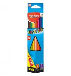 Карандаши цветные треугольные Maped COLOR PEPS, 12 цветов