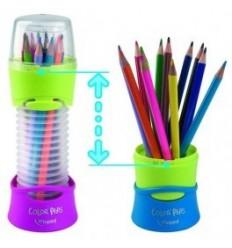 Карандаши цветные треугольные Maped COLOR PEPS flex box, 12 цветов в гибком стакане