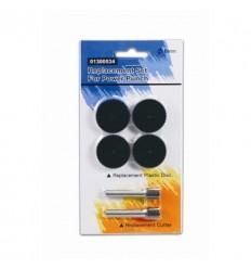 Комплект запасных частей KW-trio 01300534 для мощного дырокола KW-trio 9550, 2 ножа, 4 диска