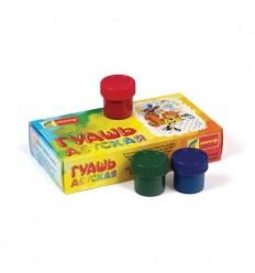Гуашь детская Простоквашино Спектр, 8 цветов по 20мл