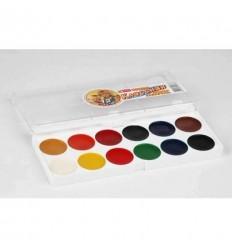 Краски акварельные Спектр, Классная медовая акварель 12 цветов
