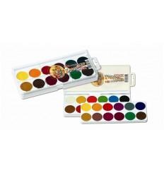 Краски акварельные Спектр, Классная медовая акварель 24 цвета