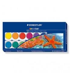 Hабор акварельных красок STAEDTLER Noris Club, 12 цветов