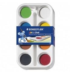 Hабор акварельных красок STAEDTLER Noris Club, 12 цветов с кистью