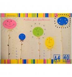 Альбом для рисования «Стиль», А4, 40л., 100гр