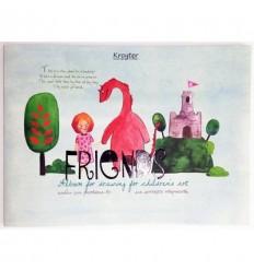 Альбом для рисования «Друзья», А4, 24л., 100гр
