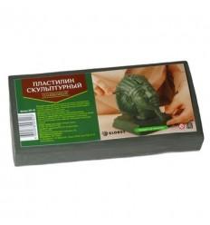 Пластилин скульптурный оливковый, GLOBUS 0,5 кг