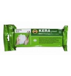 Глина для лепки белая KERAPLAST Koh-I-Noor, 1 кг