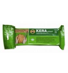 Глина для лепки терракота, KERAPLAST Koh-I-Noor, 1 кг